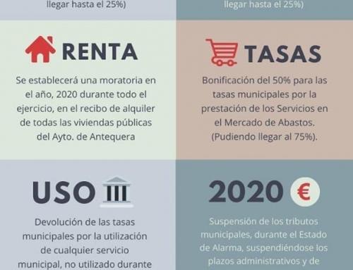 REBAJAS EN MEDIDAS FISCALES . AYUNTAMIENTO DE ANTEQUERA