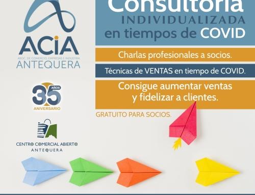 """ACIA OFRECE A LOS ASOCIADOS SERVICIOS DE CONSULTORÍA PARA MEJORAR SUS VENTAS """"EN TIEMPOS DE COVID"""""""