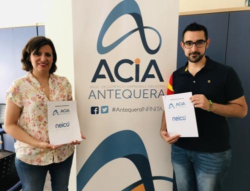CONVENIO DE COLABORACIÓN ACIA Y CCA DE ANTEQUERA Y ASESORÍA NEICO