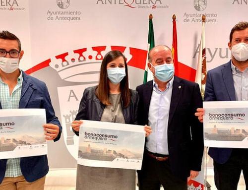 El Ayuntamiento de Antequera lanza bonos de consumo para inyectar medio millón de euros en los negocios de la ciudad
