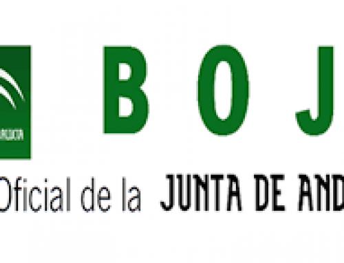 Normativa publicada en el BOJA Extraordinario nº78